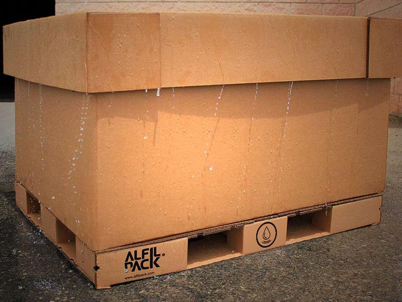 Embalaje tratado de carton o multimaterial