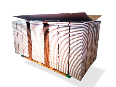 Embalaje industrial mobiliario