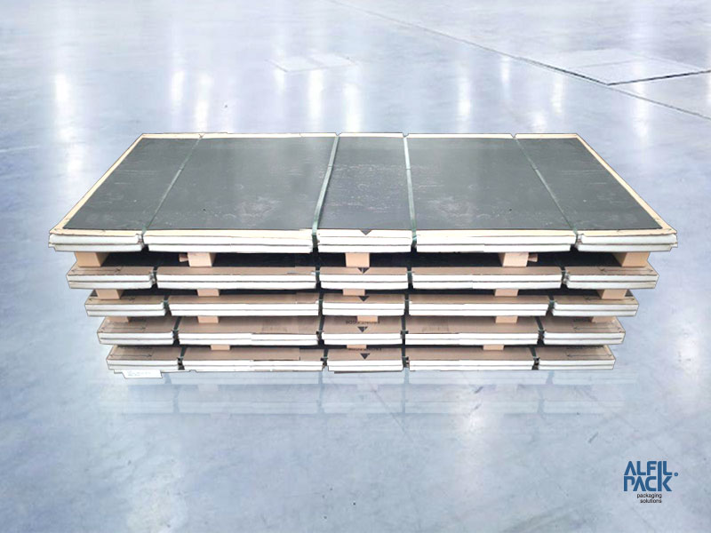 Soluciones de embalaje para la industria de la cerámica CNAE 2331 Alfilpack