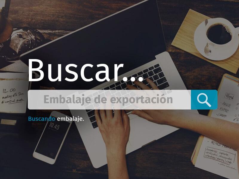 EMBALAJE PARA EXPORTACIÓN, ALTERNATIVAS A LA MADERA BUSQUEDA
