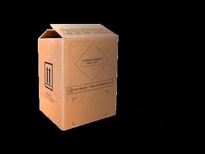 Embalaje homologado 4GV para baterias de plomo acido