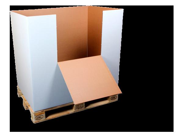 Soluciones de embalaje para el transporte de iluminación industrial