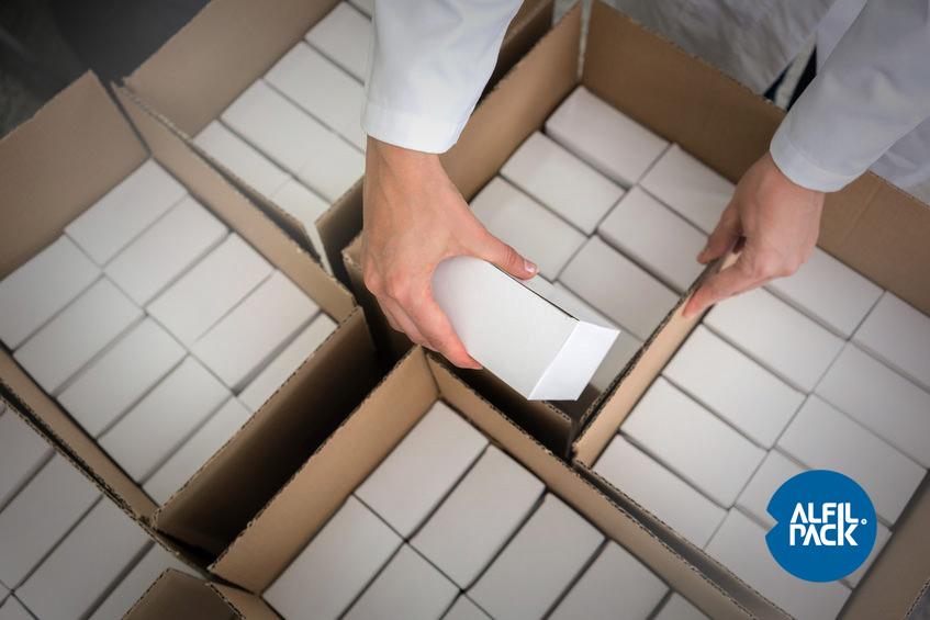 Embalaje para productos hospitalarios infecciosos