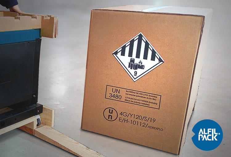 Soluciones-de-Embalaje-para-baterias-de-litio-medio-de-transporte-y-etiquetado